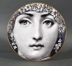 Piero Fornasetti Rosenthal Piero Fornasetti Themes Variation Plate Motiv 30 flowers - 1614304