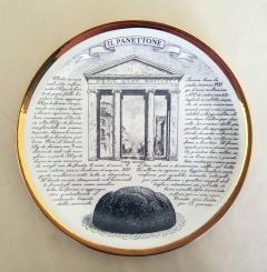 Piero Fornasetti Set of Twelve Recipe Plates Specialit Milanese Pattern - 1618097