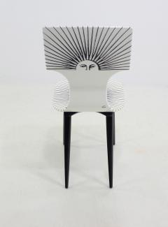 Piero Fornasetti Three Sole Dining Side Chairs by Piero Fornasetti - 1079832