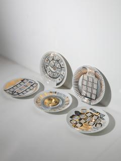 Piero Fornasetti Unique Set of 23 Calendar Plates by Piero Fornasetti - 1245765