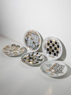 Piero Fornasetti Unique Set of 23 Calendar Plates by Piero Fornasetti - 1245766