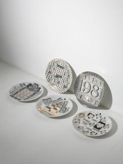 Piero Fornasetti Unique Set of 23 Calendar Plates by Piero Fornasetti - 1245768