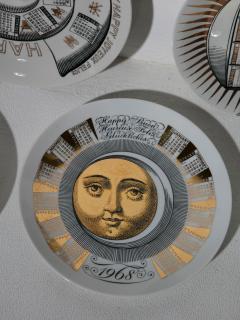 Piero Fornasetti Unique Set of 23 Calendar Plates by Piero Fornasetti - 1245771