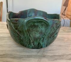 Pierre Adrien Dalpayrat Pierre Adrien Dalpayrat Large Art Nouveau Centerpiece Bowl - 1879091