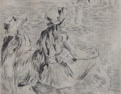 Pierre Auguste Renoir Sur la Plage a Berneval  - 1939920