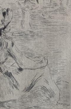 Pierre Auguste Renoir Sur la Plage a Berneval  - 1939921
