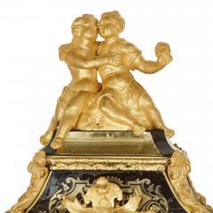 Pierre Brezagez Antique 18th Century Boulle Bracket Clock by Brezagez and Marchand - 1954734