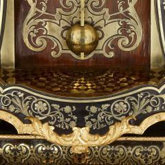 Pierre Brezagez Antique 18th Century Boulle Bracket Clock by Brezagez and Marchand - 1954736