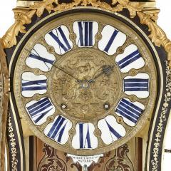 Pierre Brezagez Antique 18th Century Boulle Bracket Clock by Brezagez and Marchand - 1954737