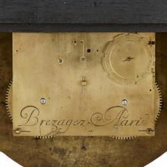 Pierre Brezagez Antique 18th Century Boulle Bracket Clock by Brezagez and Marchand - 1954743
