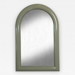 Pierre Cardin Mid Century Modern Lacquered Pierre Card Arching Top Mirror - 612508