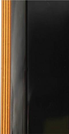 Pierre Cardin Pierre Cardin Roche Bobois Italian Black Lacquer Dining Conference Table - 2121821