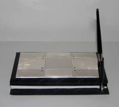 Pierre Cardin Pierre Cardin Vintage Address and Notebook Desk Set with Sterling Silver Cover - 1687172