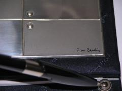 Pierre Cardin Pierre Cardin Vintage Address and Notebook Desk Set with Sterling Silver Cover - 1687176