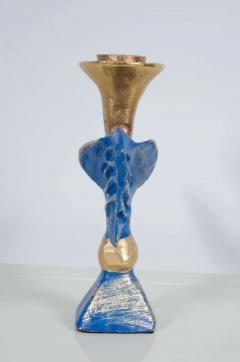 Pierre Casenove Gilt Bronze Dove Candlestick by Pierre Casenove for Fondica - 775524