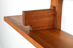 Pierre Chapo Chapo B17 book shelve in solid French Elm 1960s - 1638318