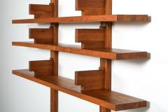 Pierre Chapo Chapo B17 book shelve in solid French Elm 1960s - 1638319