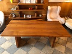 Pierre Chapo Elm wood Dining Table model T14c - 2017266