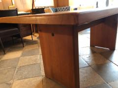 Pierre Chapo Elm wood Dining Table model T14c - 2017272