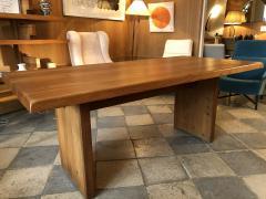 Pierre Chapo Elm wood Dining Table model T14c - 2017281