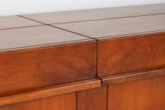 Pierre Chapo Large Mid Century Modern Credenza In Solid Elm 1960s - 1259490