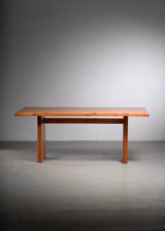 Pierre Chapo Large Pierre Chapo dining table France 1960s - 1960526