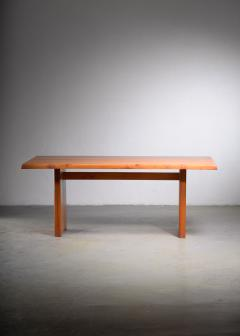 Pierre Chapo Large Pierre Chapo dining table France 1960s - 1960527