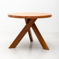 Pierre Chapo Pierre Chapo Model T21 Dining Table in Solid Elm France 1960s - 438790