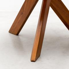 Pierre Chapo Pierre Chapo Model T21 Dining Table in Solid Elm France 1960s - 438792