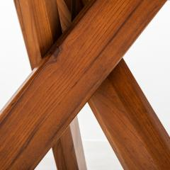 Pierre Chapo Pierre Chapo Model T21 Dining Table in Solid Elm France 1960s - 438794