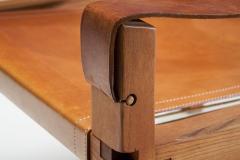 Pierre Chapo Pierre Chapo S10 Cognac Leather Easy Chair France 1960s - 1416197