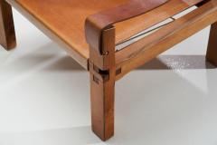 Pierre Chapo Pierre Chapo S10 Cognac Leather Easy Chair France 1960s - 1416198