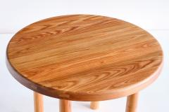 Pierre Chapo Pierre Chapo T02 Dining Table in Solid Elm Chapo Creation France - 2099402