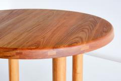 Pierre Chapo Pierre Chapo T02 Dining Table in Solid Elm Chapo Creation France - 2099406