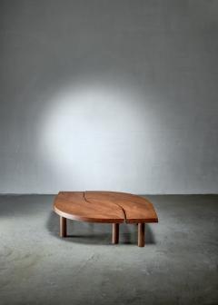 Pierre Chapo Pierre Chapo T22 LOeil coffee table in pine 1960s - 1163948