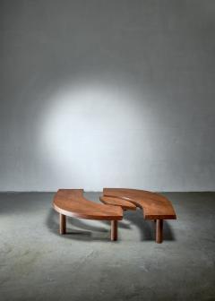 Pierre Chapo Pierre Chapo T22 LOeil coffee table in pine 1960s - 1163949