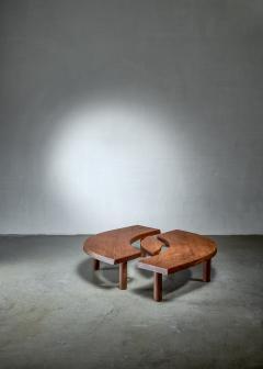 Pierre Chapo Pierre Chapo T22 LOeil coffee table in pine 1960s - 1163950