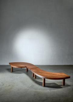 Pierre Chapo Pierre Chapo T22 LOeil coffee table in pine 1960s - 1167611