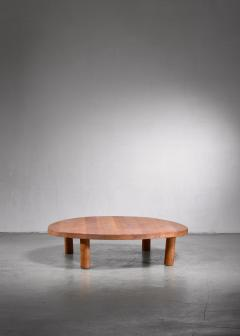 Pierre Chapo Pierre Chapo low and large T02 coffee table - 1702388