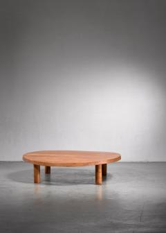 Pierre Chapo Pierre Chapo low and large T02 coffee table - 1702389