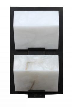 Pierre Chareau Block Single Metal 230 Wall Sconce - 507519