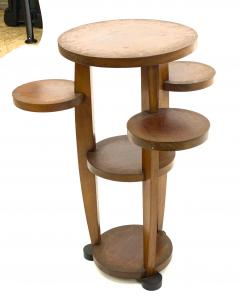Pierre Chareau Pierre Chareau attributed modernist awesome side table or pedestal - 1599647