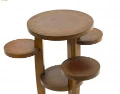 Pierre Chareau Pierre Chareau attributed modernist awesome side table or pedestal - 1599653