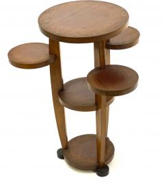 Pierre Chareau Pierre Chareau attributed modernist awesome side table or pedestal - 1599666