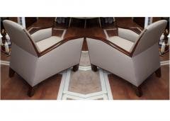 Pierre Chareau Pierre Chareau attributed superb design pair of club chairs - 1079861