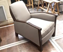 Pierre Chareau Pierre Chareau attributed superb design pair of club chairs - 1079867