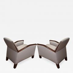 Pierre Chareau Pierre Chareau attributed superb design pair of club chairs - 1080416