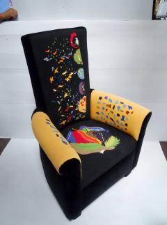 Pierre Chareau Set of Eight Custom Armchairs by Pierre Chareau - 418438
