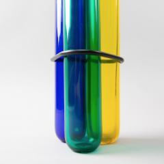 Pierre Charpin Pierre Charpin George Sowden Memphis School Rare Vase for Venini - 1087795