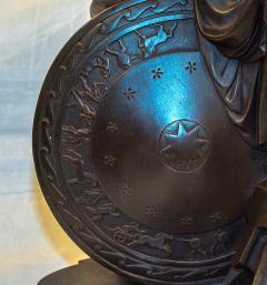 Pierre Eug ne Emile H bert A Fine Patinated Bronze Sculpture depicting Thetis - 1469108